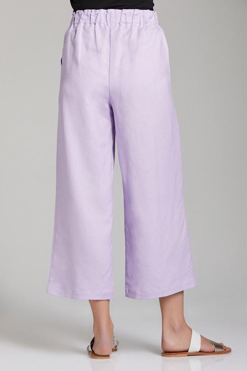 Emerge Linen Blend Crop Pants