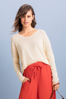 Emerge Lightweight Relaxed Sweater - 234431