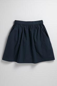Pumpkin Patch Woven Skirt with Pockets - 234465