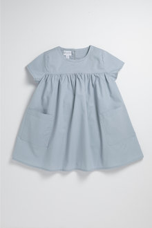 Pumpkin Patch Infants Woven Smock Dress with Pockets - 234466