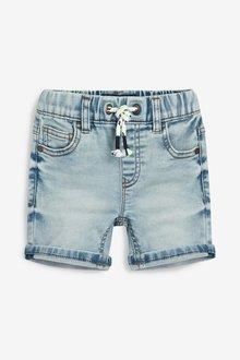 Next Jersey Denim Pull-On Shorts (3mths-7yrs)