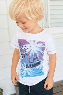 Next Printed Short Sleeve T-Shirt (3mths-7yrs)