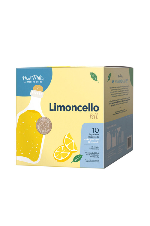 Mad Millie DIY Limoncello Kit
