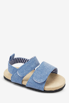 Next Double Strap Pram Sandals (Younger)