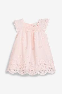 Next Broderie Dress (0mths-2yrs)