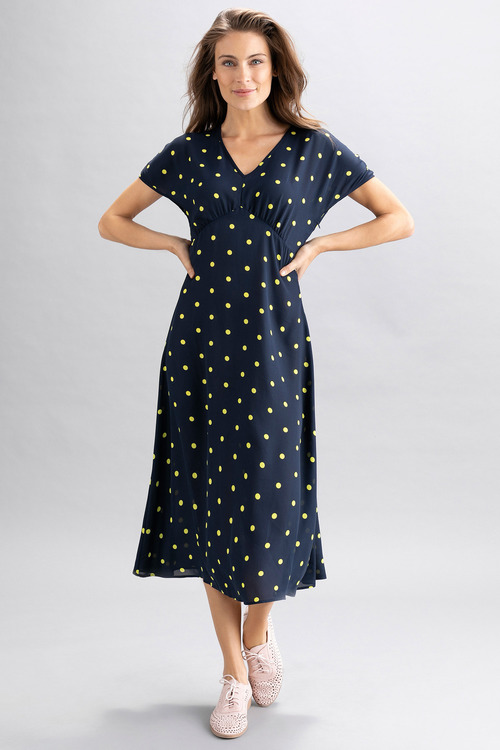 Capture Short Sleeve Midi Dress