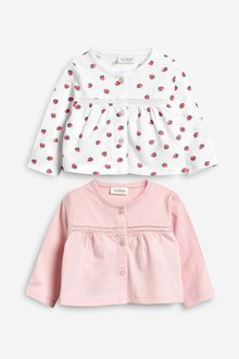 Next Jersey Cardigans Two Pack (0mths-2yrs)