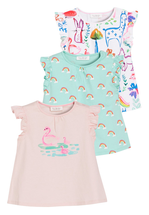 Next Print T-Shirts Three Pack (0mths-2yrs)