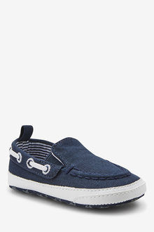 Next Pram Slip-On Boat Shoes (0-24mths)