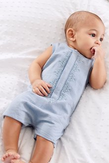 Next Embroidered Romper (0mths-2yrs)