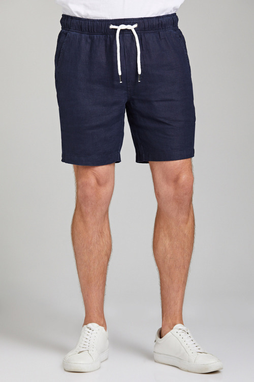 Jimmy+James Men's Linen Shorts