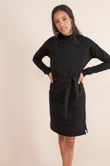 Next Funnel Neck Jersey Dress
