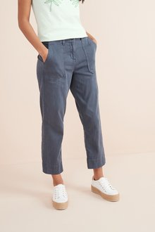 Next Cropped Utility Trousers- Tall