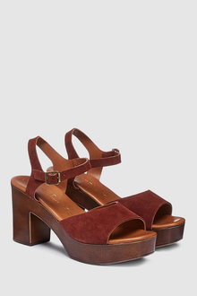 Next Leather Forever Comfort Clog Sandals