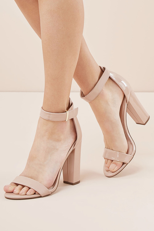 Next Barely There Block High Sandals