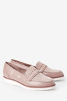 Next Forever Comfort Brogue Detail Chunky Sole Loafers