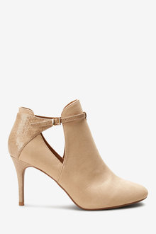 Next Forever Comfort Open Side Shoe Boots