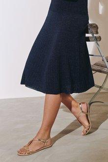 Next Pleat Sparkle Skirt