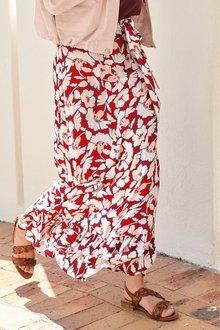 Next Frill Hem Maxi Skirt
