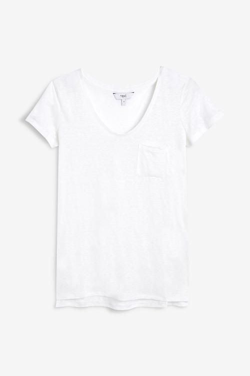 Next Linen T-Shirt