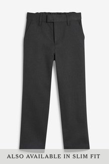 Next Formal Slim Leg Trousers (3-16yrs)- Regular Fit