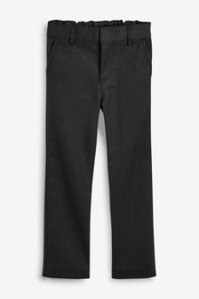 Next Flat Front Trousers (3-16yrs)- Regular Fit