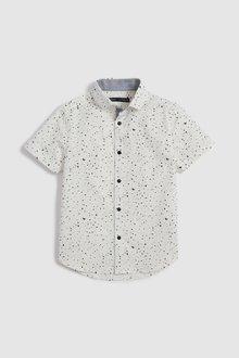 Next Short Sleeve Splat Print Shirt (3-16yrs)
