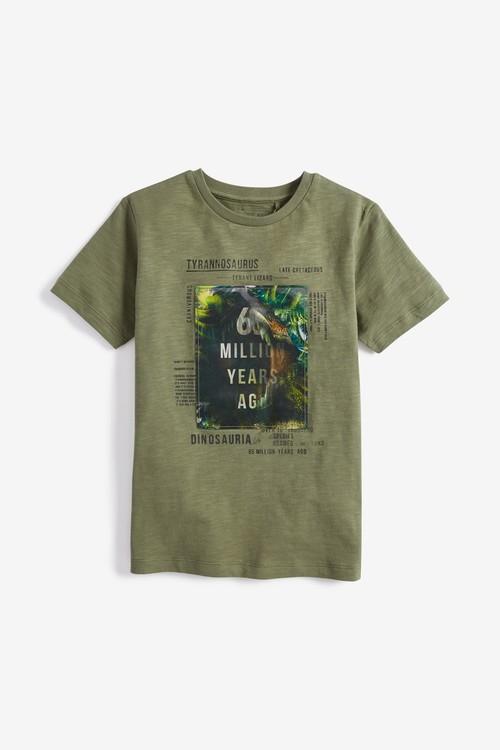 Next Lenticular Dinosaur T-Shirt (3-14yrs)