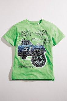 Next Sequin Change Graphic T-Shirt (3-16yrs)