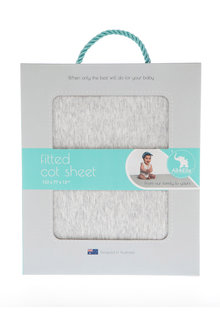 All 4 Ella Jersey Cot Sheet Set - 234816