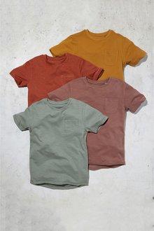 Next Short Sleeve T-Shirts Four Pack (3-16yrs)