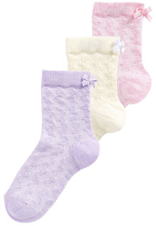 Next Textured Socks Three Pack (Younger)