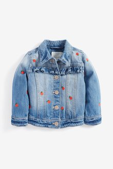 Next Embroidered Denim Jacket (3mths-7yrs)