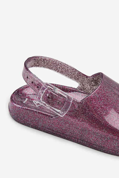 Next Glitter Jelly Sliders (Younger)