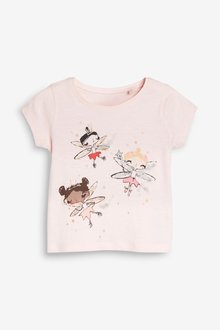Next Fairies Short Sleeve T-Shirt (3mths-7yrs)