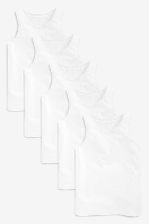 Next Vests Five Pack (1.5-16yrs)