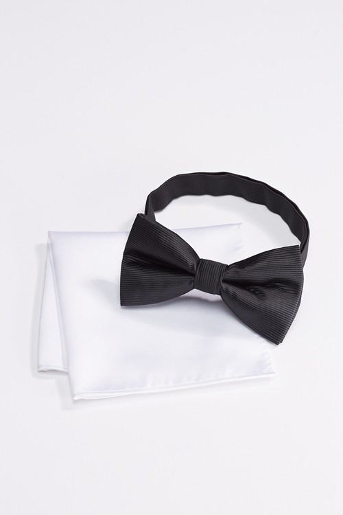 Next Bow Tie And Pocket Square Set