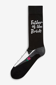 Next Father Of The Bride Wedding Socks