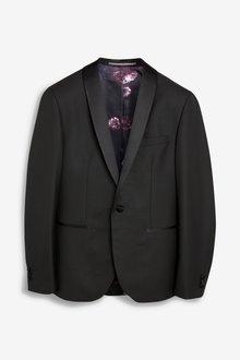 Next Slim Fit Shawl Tuxedo Suit: Jacket - 234939