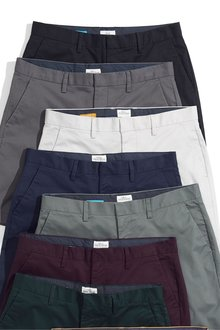 Next Smart Stretch Chino Shorts- Slim Fit