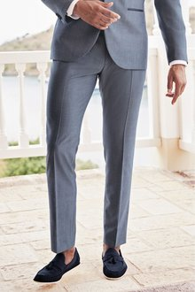 Next Tuxedo Suit: Trousers -Slim Fit