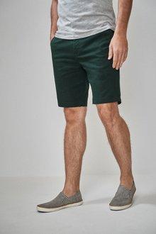 Next Regular Stretch Chino Shorts