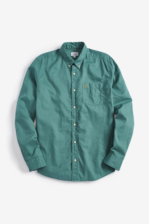 Next Long Sleeve Light Twill Shirt