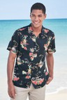 Next Hawaiian Scene Print Shirt