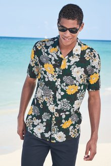 Next Floral Print Shirt