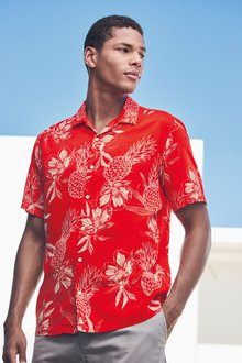 Next Pineapple Print Shirt