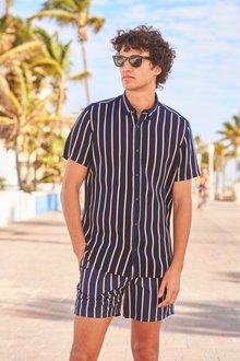 Next Vertical Stripe Shirt