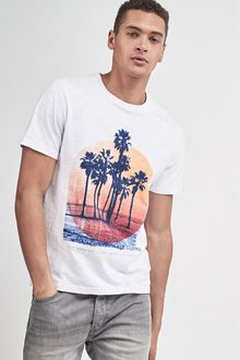 Next Palm Graphic T-Shirt