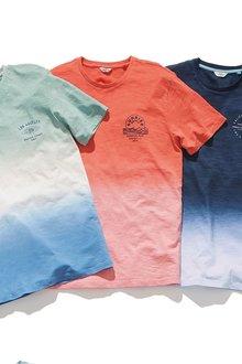 Next Dip Dye Graphic T-Shirt