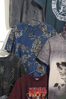 Next Leaf Print T-Shirt